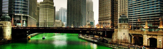 St. Patrick's Day – Green Insects and Follow the Rainbow to the Gold.